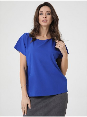 Женская блуза без рукавов свободного кроя