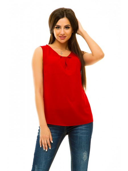 Блуза без рукавов kr