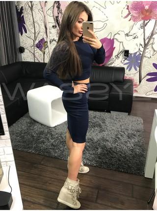 Женский Костюм: кофта + юбка