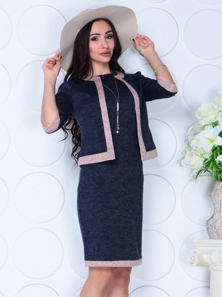 Костюм двойка платье и пиджак 2