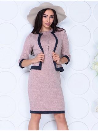 Костюм двойка: платье и пиджак 1