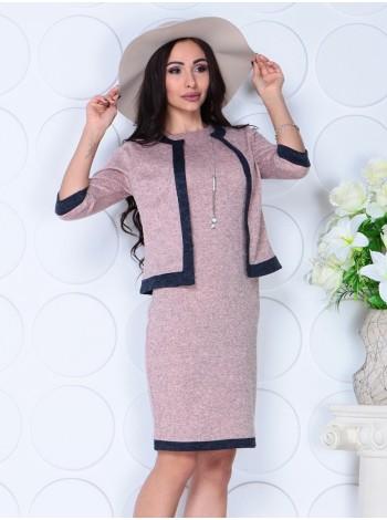 Костюм двойка: платье и пиджак