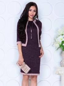 Костюм двойка: платье и пиджак 3