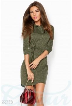 Ангоровое платье рубашка