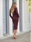 Женское ангоровое платье осень - зима