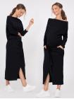 Черное универсальное платье