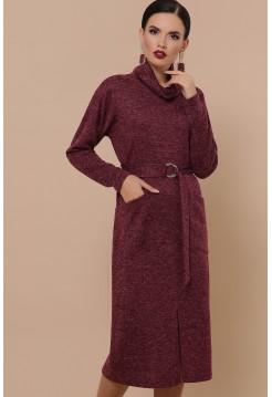 Бордовое платье Дакота