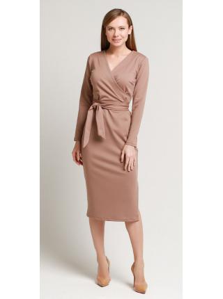 Платье с поясом Француз С
