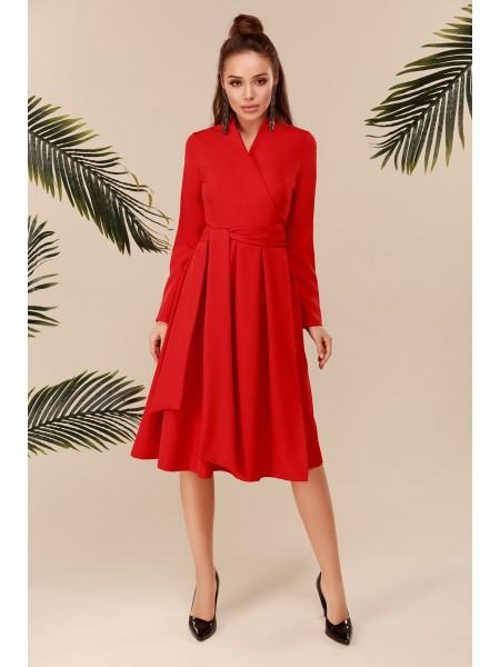 Платье с пышной юбкой