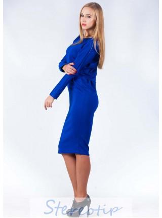 Платье ниже колен под заказ  ЗПТ44