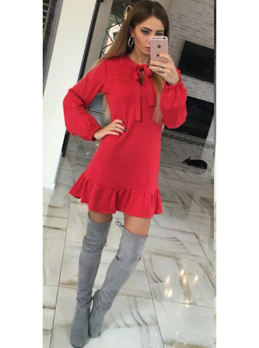 94b49ee0493f Молодежное платье весна-осень по цене производителя Стереотип
