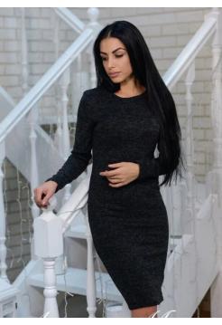 """Женское платье """"Rondo"""" ангора черный"""
