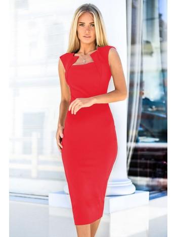Элегантное платье-футляр. Сезон весна - лето