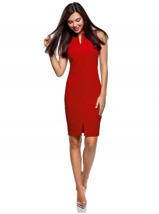 Платье миди деловой шик