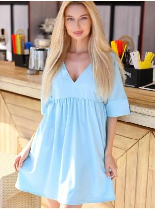 Короткое платье свободного кроя