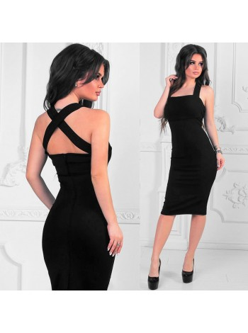 Платье летнее Шик черное