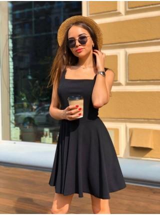 Коктейльное платье черное