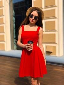 Коктейльное платье 10153