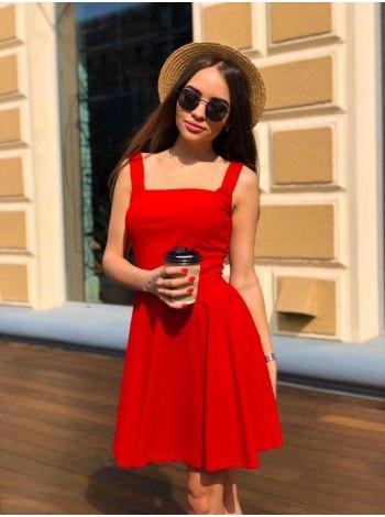 Коктейльное платье из креп дайвинга