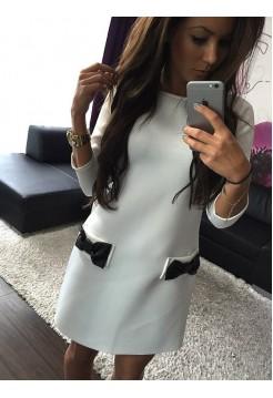 Платье бантики 3
