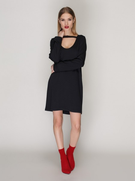 Платье с чокером СТ