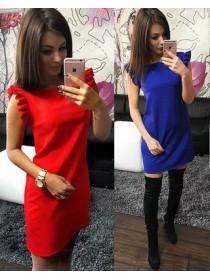 Платье Рюши