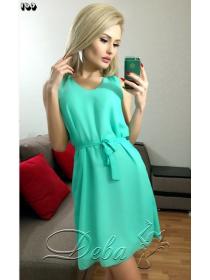 Платье сарафан Дива - креп шифон под заказ ЗПТ26
