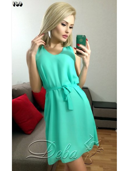 Платье Дива - креп шифон