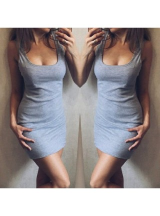 Платье майка мини