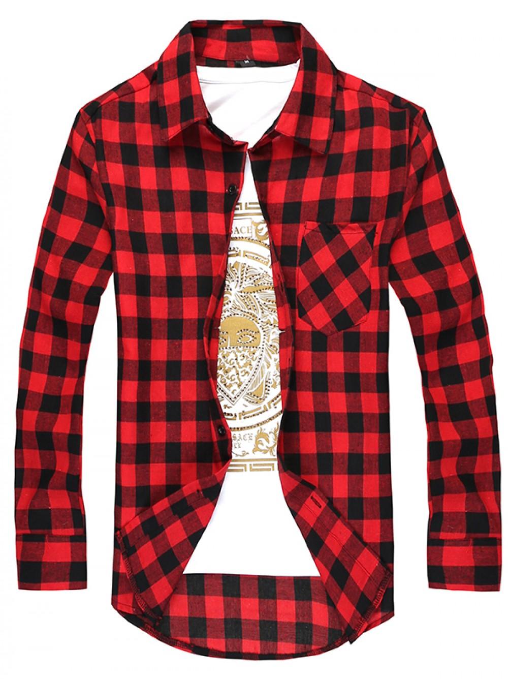 3fe81dc4d1481a4 Рубашка в клетку мужская. Цена от 188 грн.