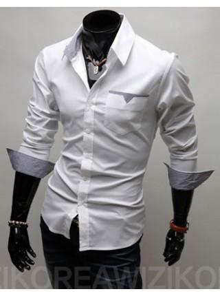 Стильная сорочка мужская
