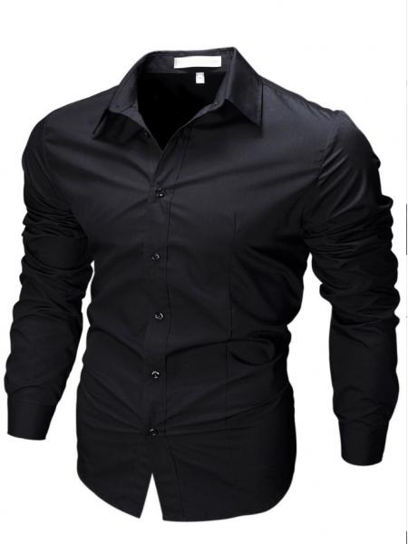 Рубашка приталенного кроя