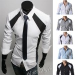 Модная рубашка мужская